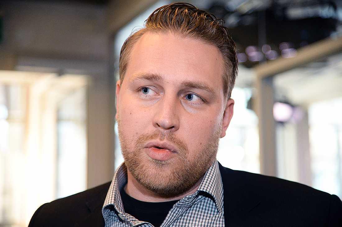 SD:s vikarierande partiledare Mattias Karlsson.