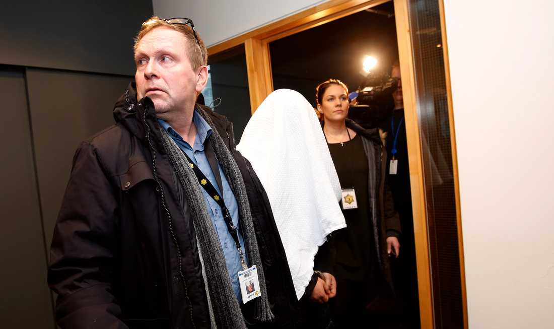 En av de gripna männen som misstänks vara inblandade i Birnas försvinnande.