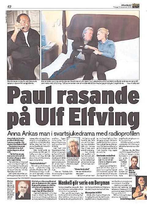 Aftonbladet 22 december.