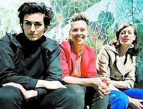 Nya Bang-redaktörer –Lawen Mohtadi, Cajsa Unnbom och Sonja Schwarzenberger.