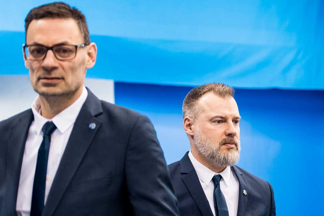 Peter Popovic och Rikard Grönborg.
