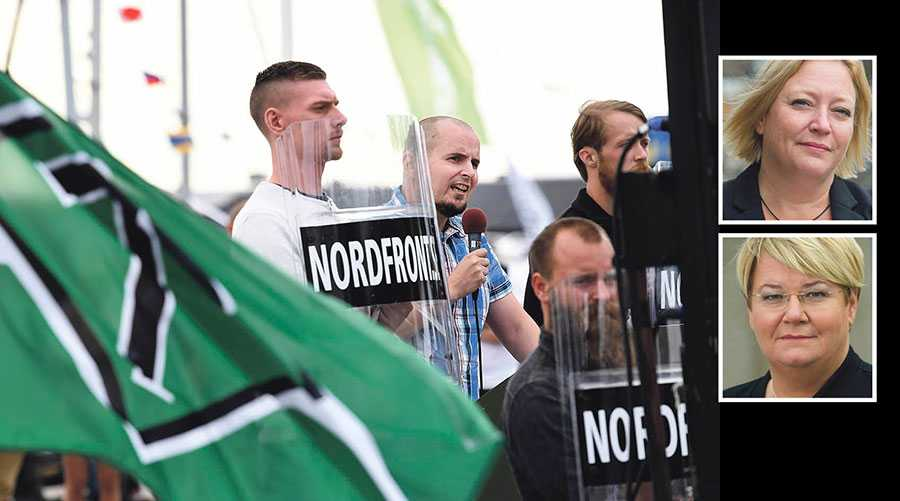 Åter sanktionerar Polisens beslut att organisationer som kämpar för allas rätt och lika värde skräms till tystnad, skriver Helén Pettersson och Monica Widman-Lundmark.