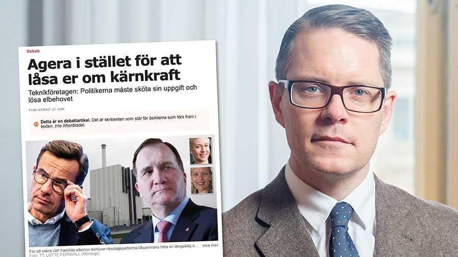 Moderaterna har ställt krav på en ny energipolitik som värnar all typ av fossilfri elproduktion. Vår hand till regeringen är fortfarande utsträckt för att ta ansvar för en sammanhängande energipolitik, skriver Lars Hjälmered.