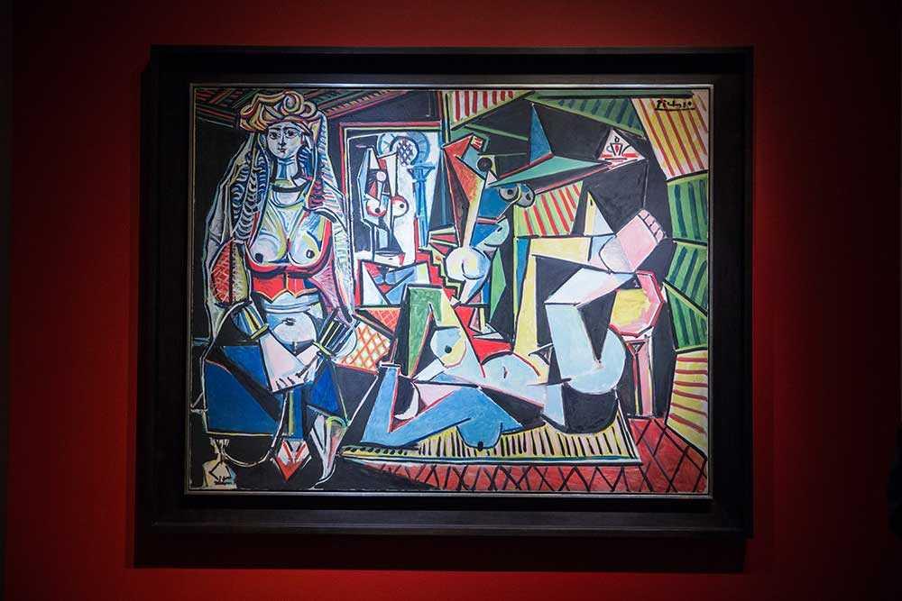 "Verket, ""Kvinnorna i Alger"" av Pablo Picasso klubbades på auktionshuset Christies i måndags."