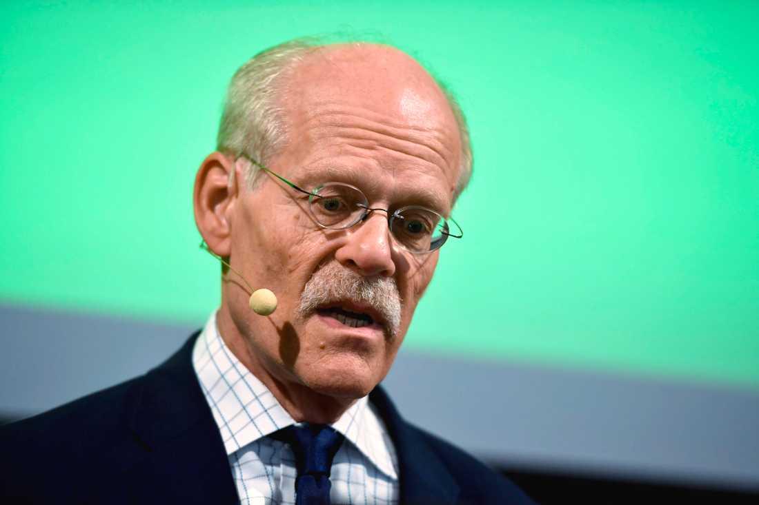 Riksbankschef Stefan Ingves kan komma att tappa makt. Arkivbild.
