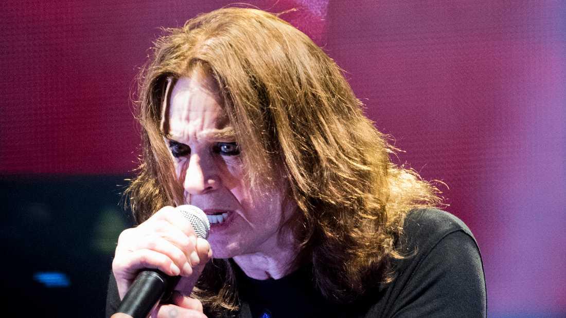 Ozzy Osbourne på Sweden rock festival 2018.