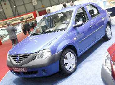 Dacia Logan är liten - men godkänd.