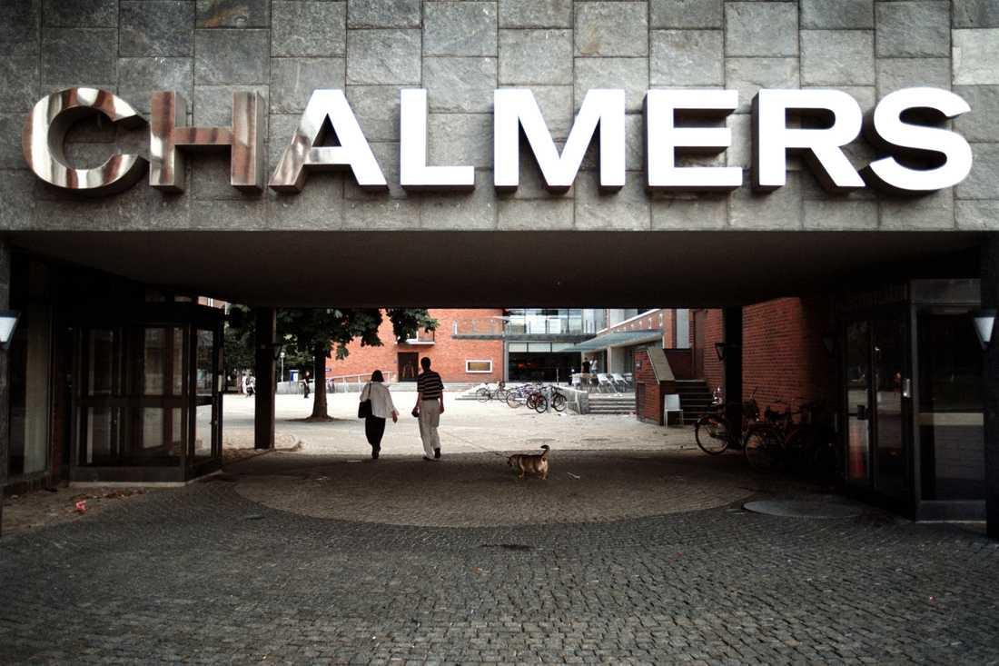 Chalmers tekniska högskola i Göteborg. Arkivbild.