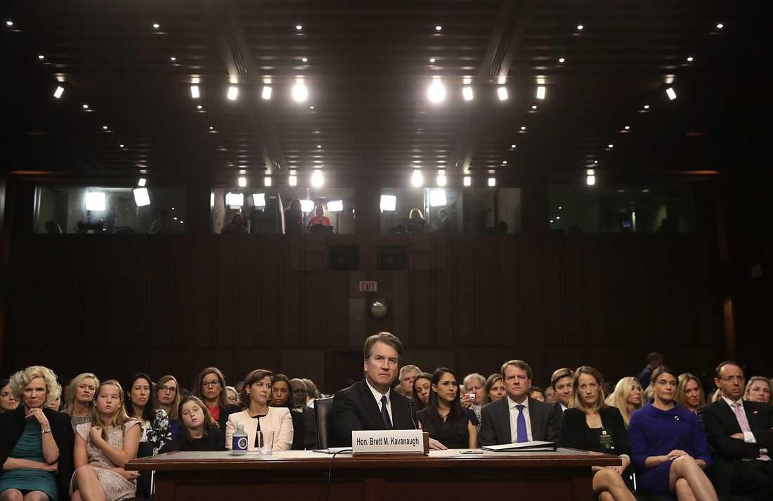 Brett Kavanaugh har frågats ut i senaten.