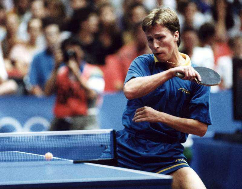 Jan-Ove Waldner var en av världens främste bordtennisspelare och vann både OS och VM guld.