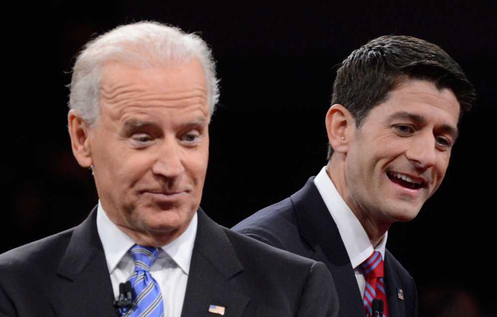 Joe Biden och Paul Ryan.