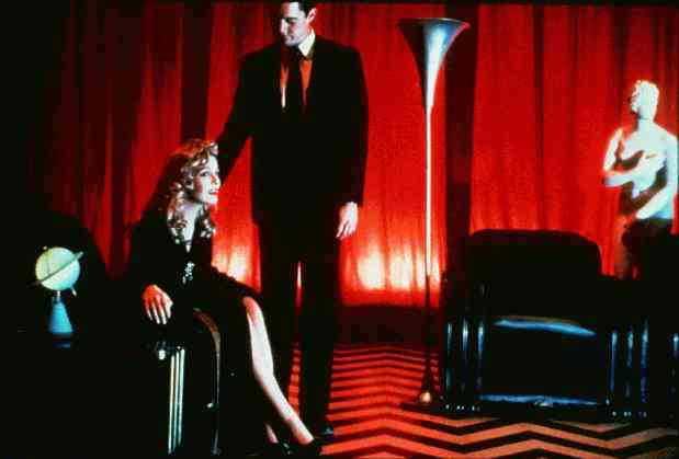 Sheryl Lee och Kyle MacLachlan.