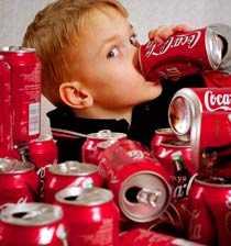 Läsk varannan dag Svenska barn dricker i genomsnitt 1,5 liter läsk i veckan, visar en undersökning från Livsmedelsverket.