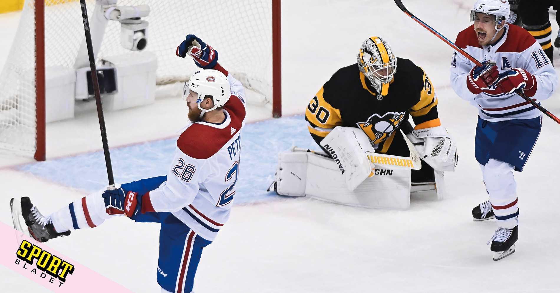 Montreal skrällde direkt mot Pittsburgh