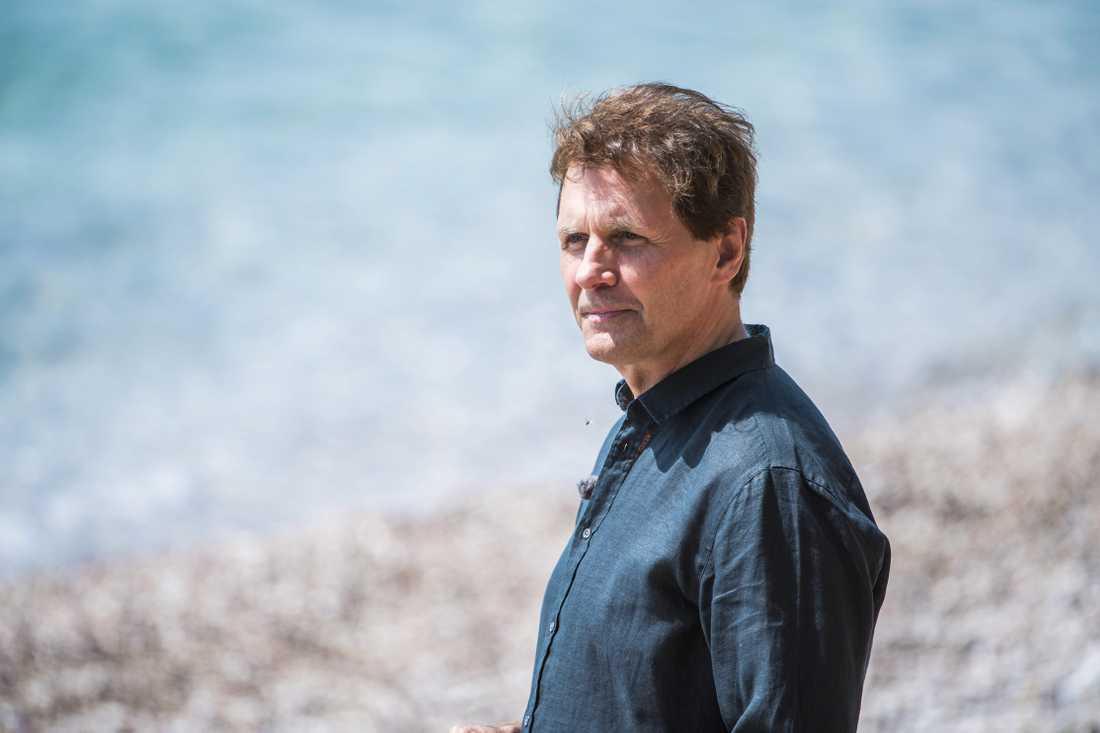 """Micke Leijnegard är programledare för """"Mästarnas mästare""""."""