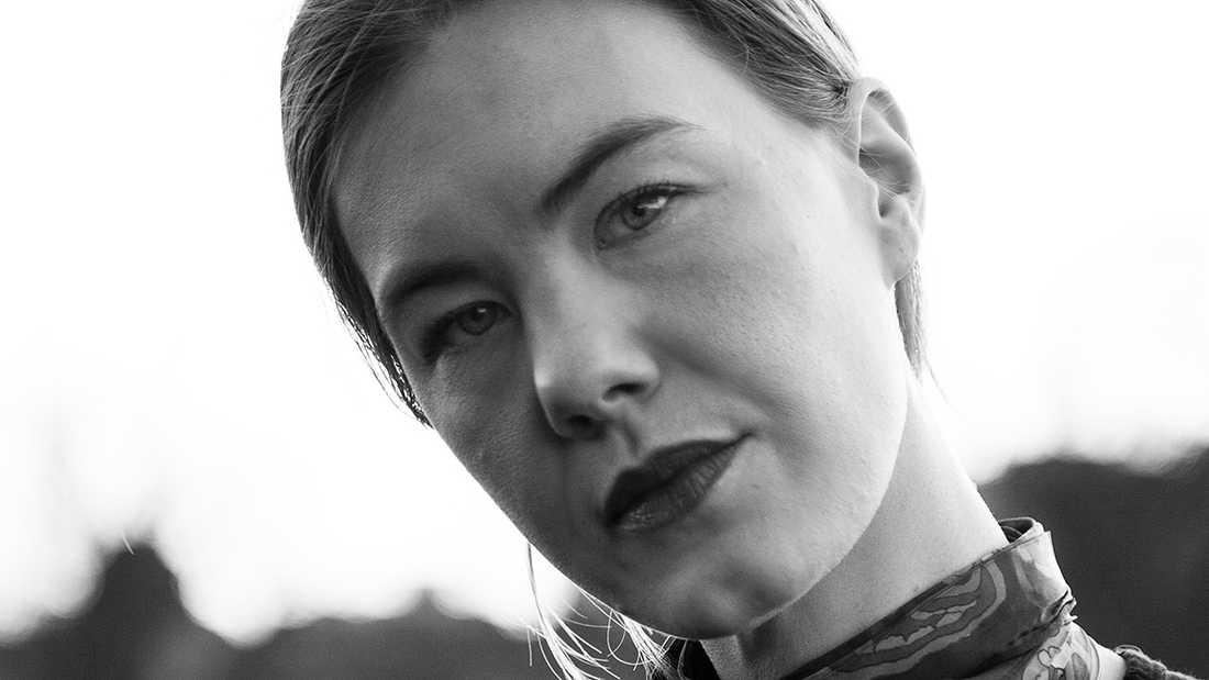 """Wera von Essen, aktuell med """"Våld och nära samtal""""."""