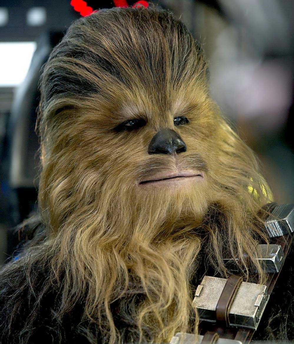 Chewbacca, rollfigur i Star Wars-filmerna.
