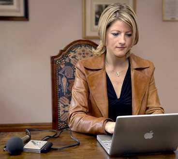 BRA JOBB BBC-reportern Jacqui Oatley tycker hennes intervju var ett bra journalistiskt arbete.