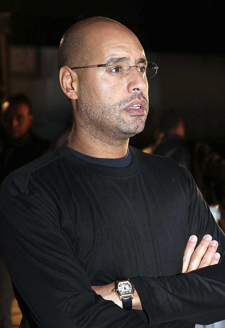 Saif al-Islam Gaddafi – vän med prins Andrew.