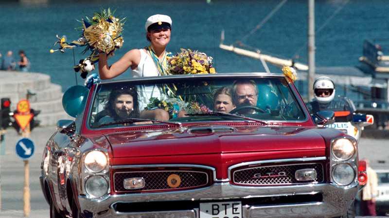 Även Kungen kör Pontiac då och då.