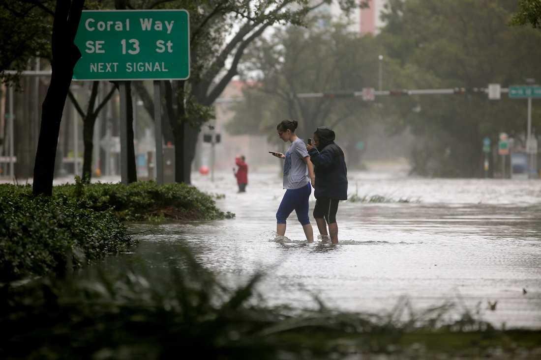 Brickell Avenue i Miami.