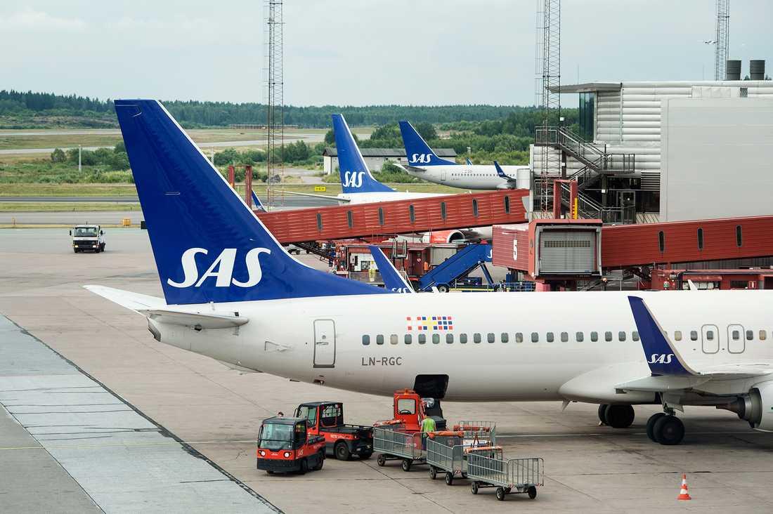 En ny undersökning pekar på uselt arbetsklimat för SAS kabinpersonal i Stockholm.