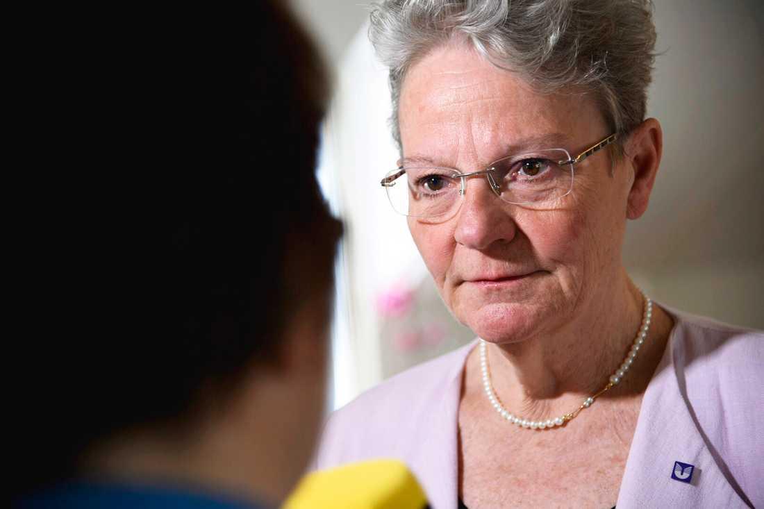 Karin Röding, Universitets- och högskolerådets generaldirektör. Arkivbild.