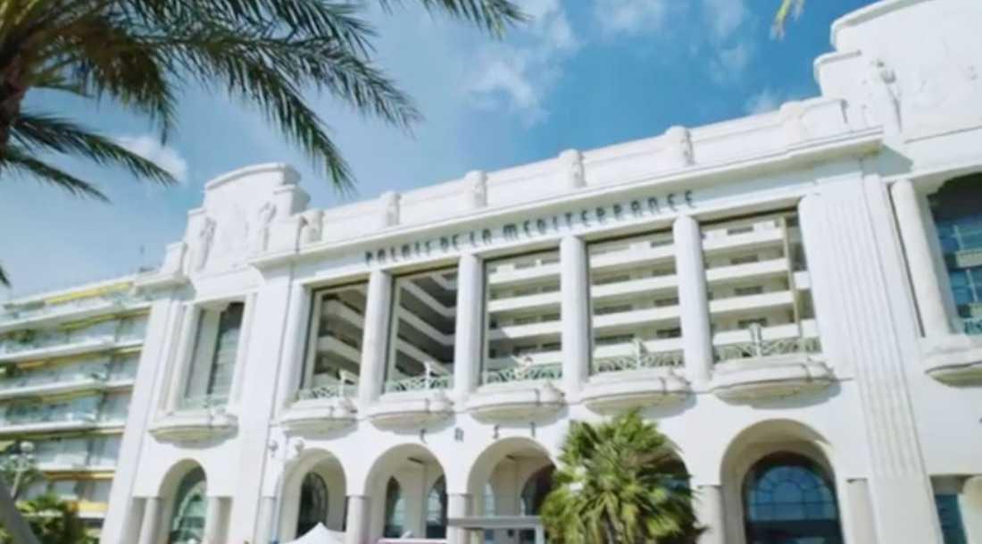 Bilder på hotellet där konferensen hölls.