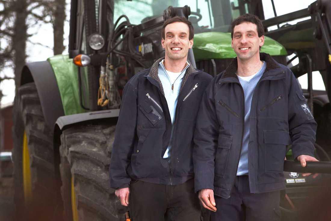 Tvillingarna Erik och Oscar Dieden, 38 Köttbönder från Katrineholm i Södermanland