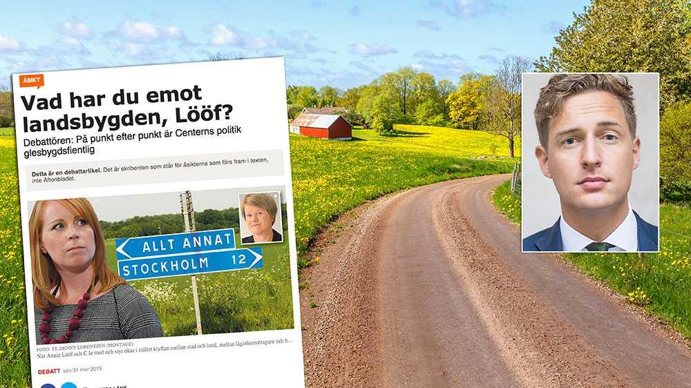 Vi har till skillnad från Vänsterpartiet en helhet för de lösningar vi vill se för att förbättra villkoren för landsbygden. Vi har fått igenom många viktiga förslag i Januariavtalet, skriver Emil Källström, ekonomisk-politisk talesperson Centerpartiet.