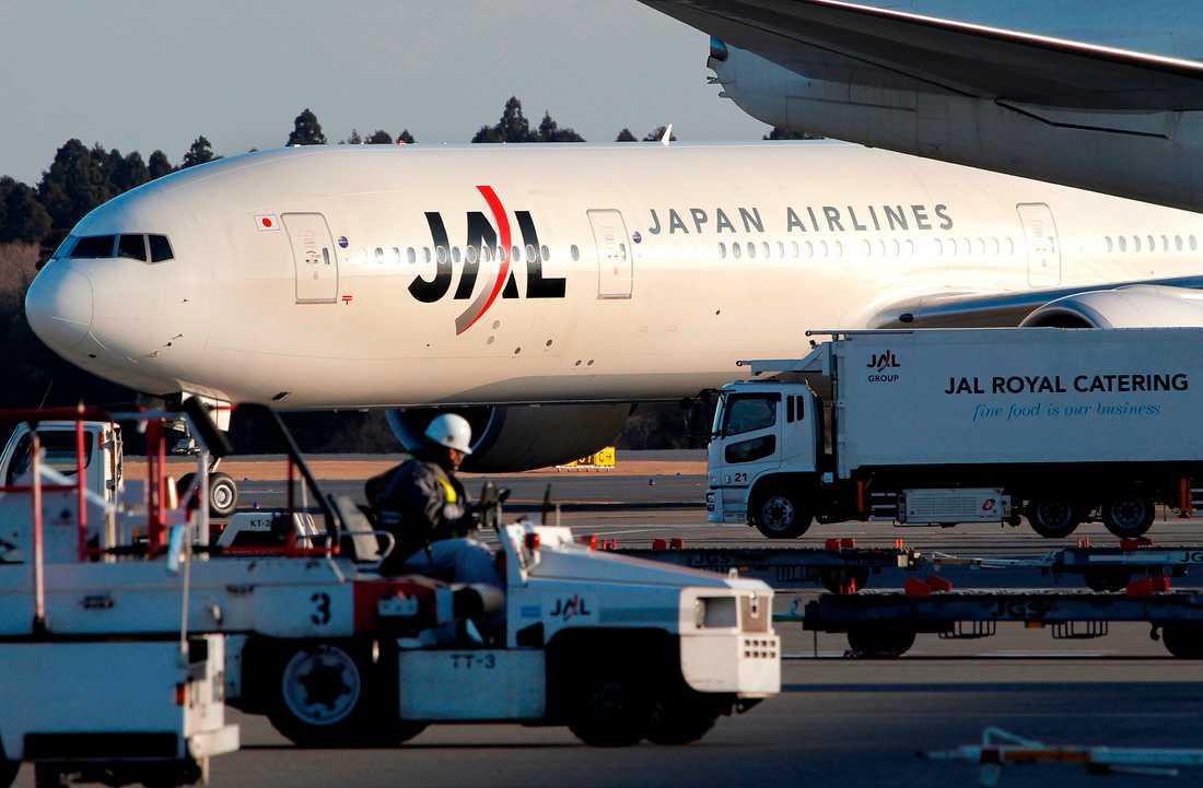 Det är Japan Airlines som infört barnkartan.