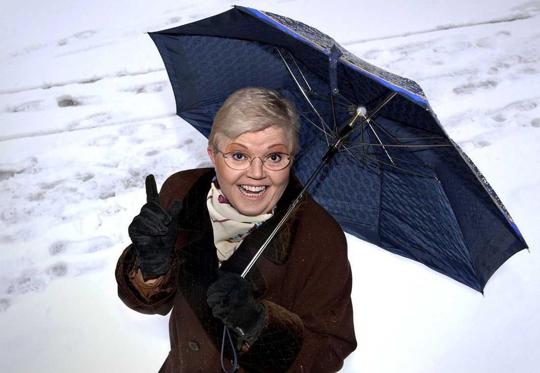 Revystjärnan Laila Westersund blev 68 år.