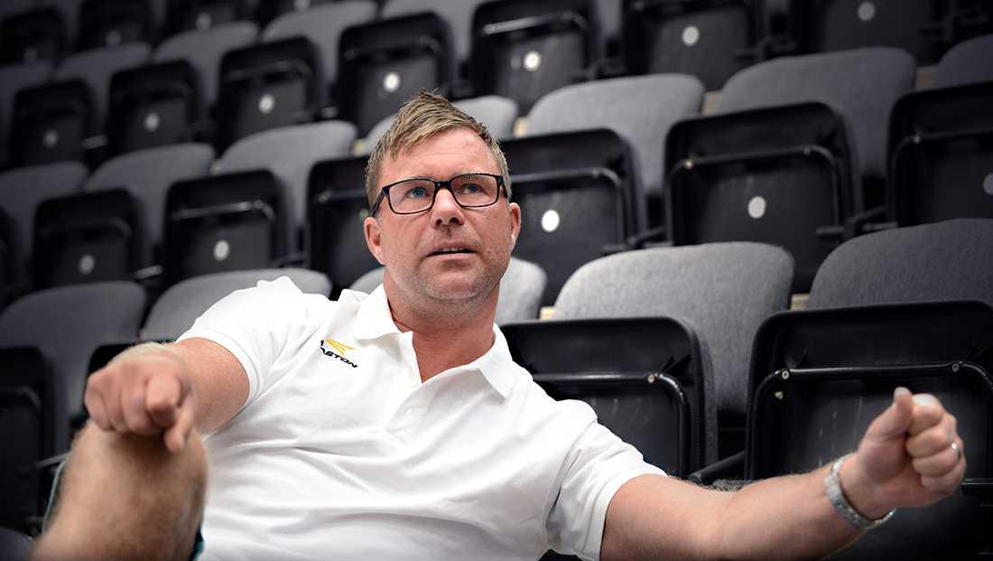 Tog över i kvalet I höst inleder Patrik Ross sin debutsäsong som huvudcoach i högsta serien.Foto: CONNY SILLÈN