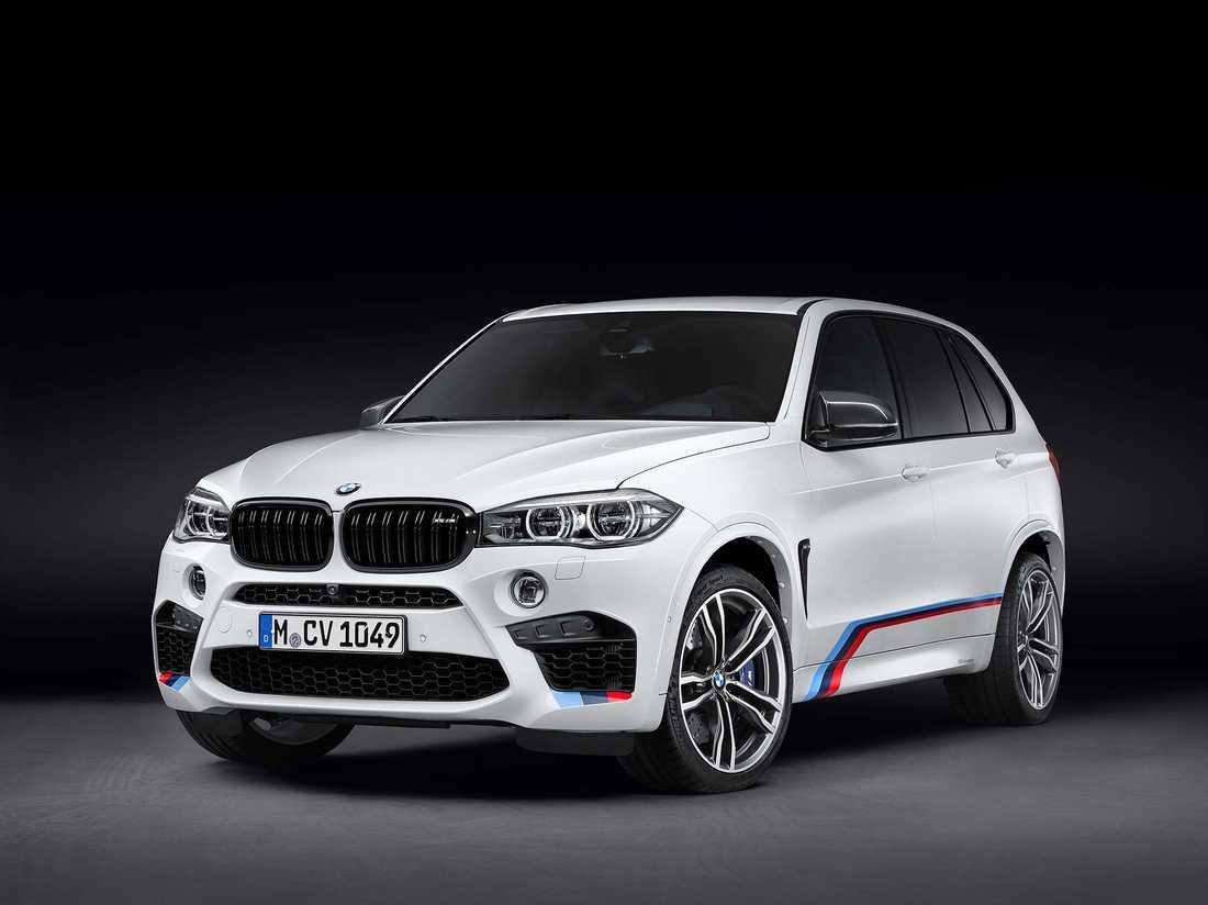 BMW X5M.