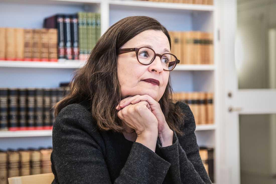 Utbildningsminister Anna Ekström (S) ser allvarligt på den bristande likvärdigheten inom svensk skola. Arkivbild.