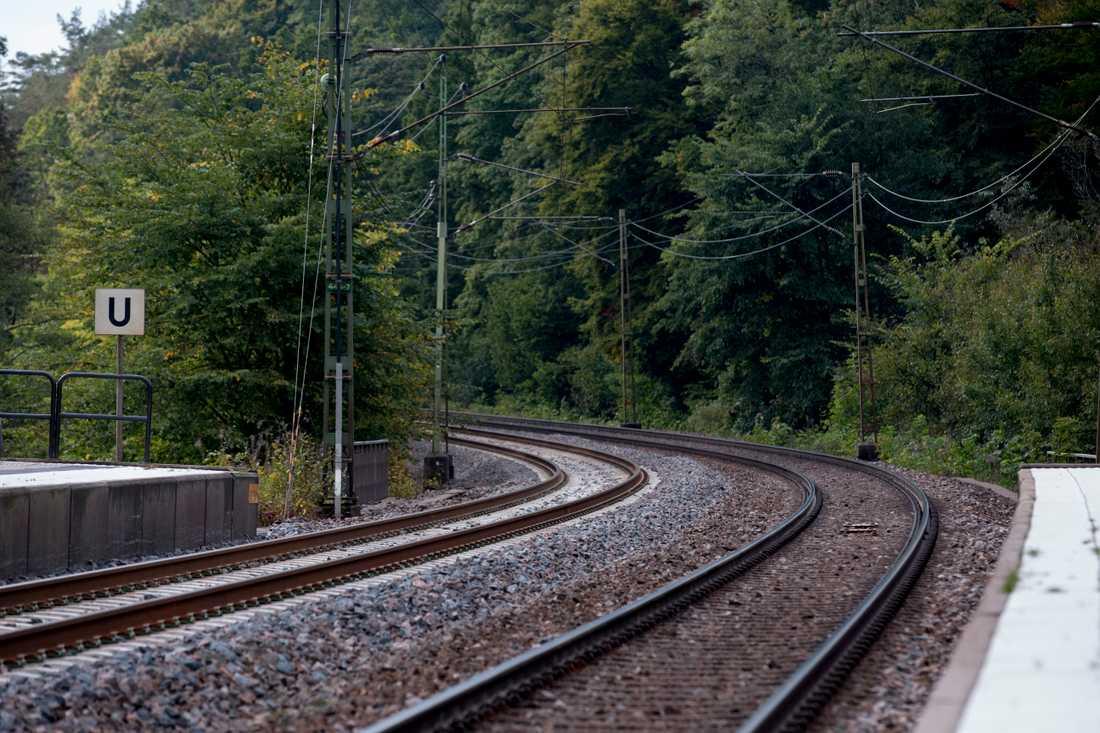 Tågtrafiken påverkas av den blodiga urspårningen. Arkivbild.