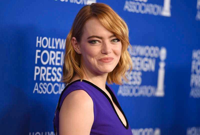 Skådespelaren Emma Stone är nygift.
