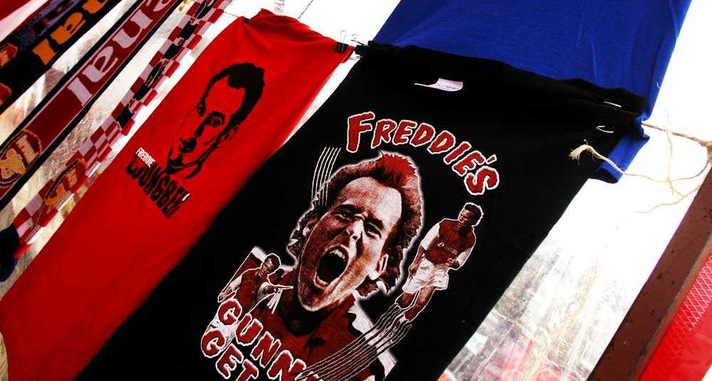 Fansen älskade Fredrik Ljungberg, eller Freddie som han kallades av Arsenals fans.