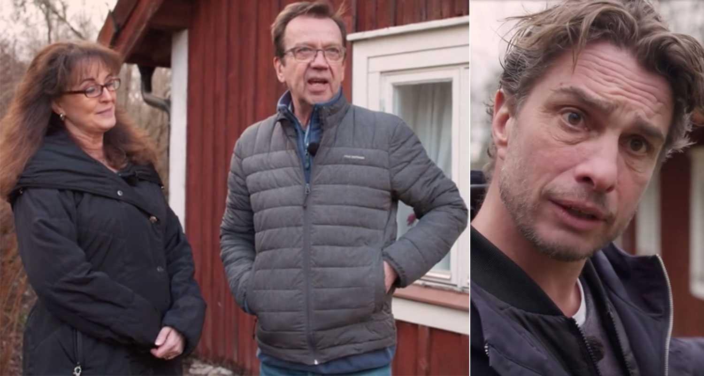 Anders Öfvergård blev inte insläppt hos Björn Skifs