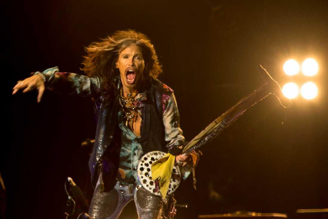 Aerosmith spelar på Sweden Rock festival 2017