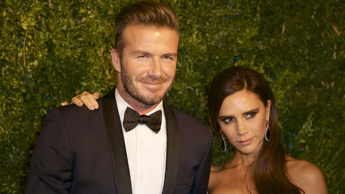 David och Victoria Beckham.