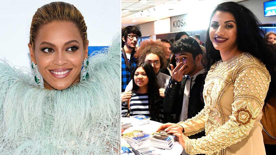 Bra förebilder är oerhört viktigt för unga, påpekar Marwa Karim. Beyoncé är hennes stora idol.
