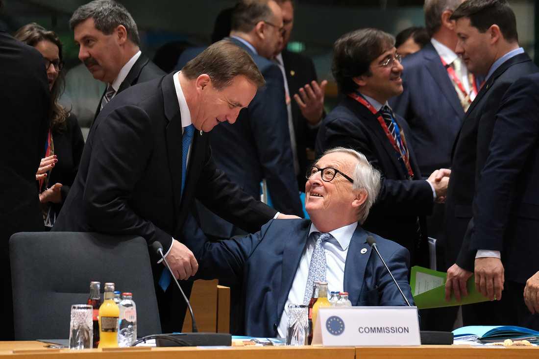 Löfven och Juncker.