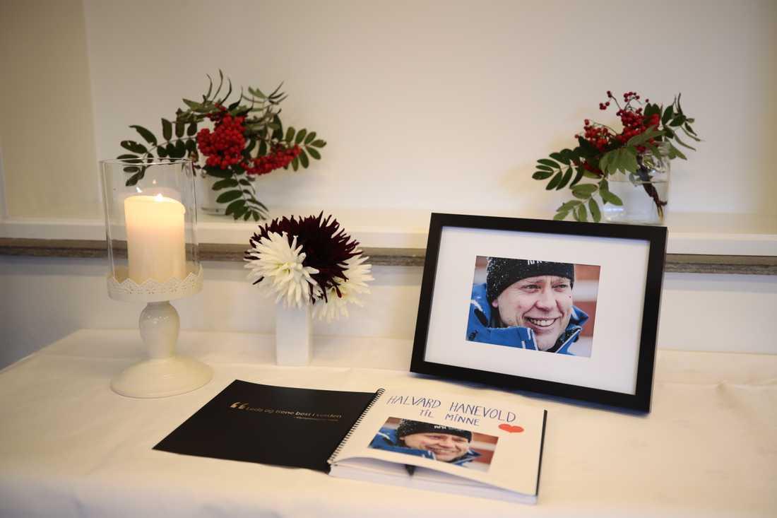 Skidskytten Halvard Hanevold avled den 3 september.