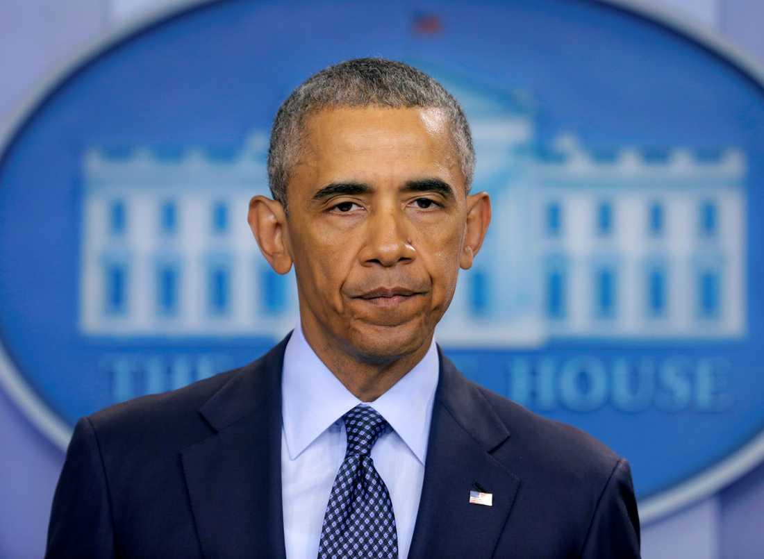 President Obama talade om masskjutningen i Orlando.