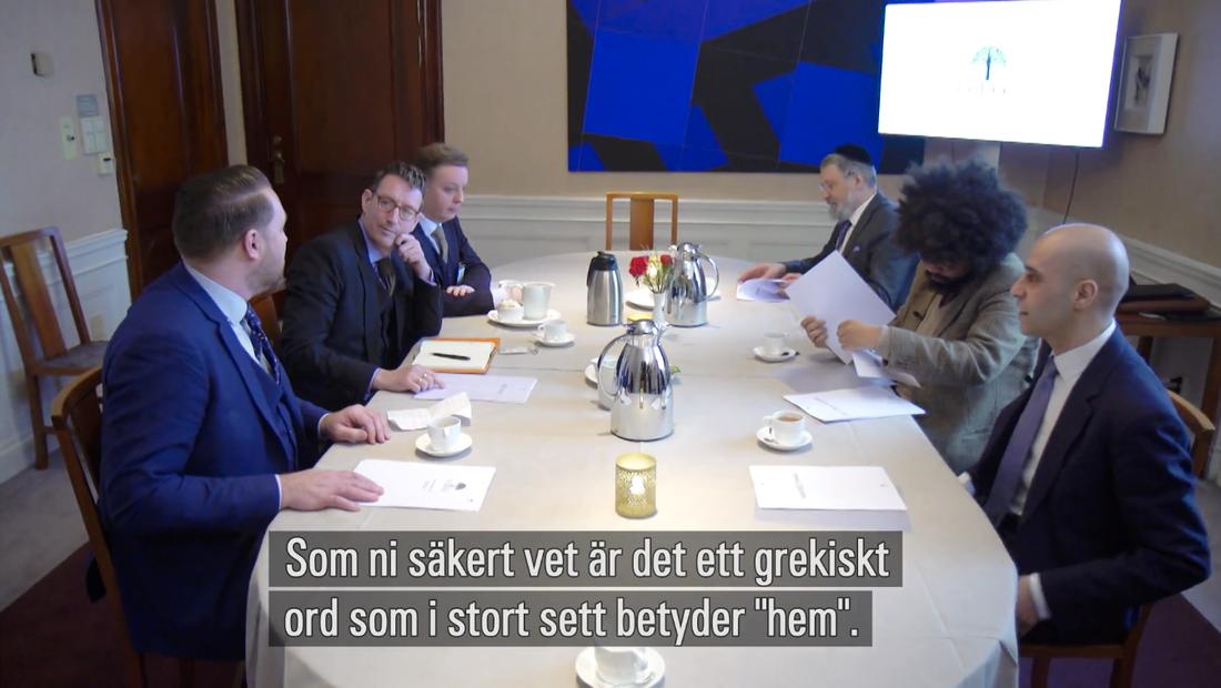 Mattias Karlsson och tankesmedjan Oikos som lanserades i SVT Agenda i söndags.