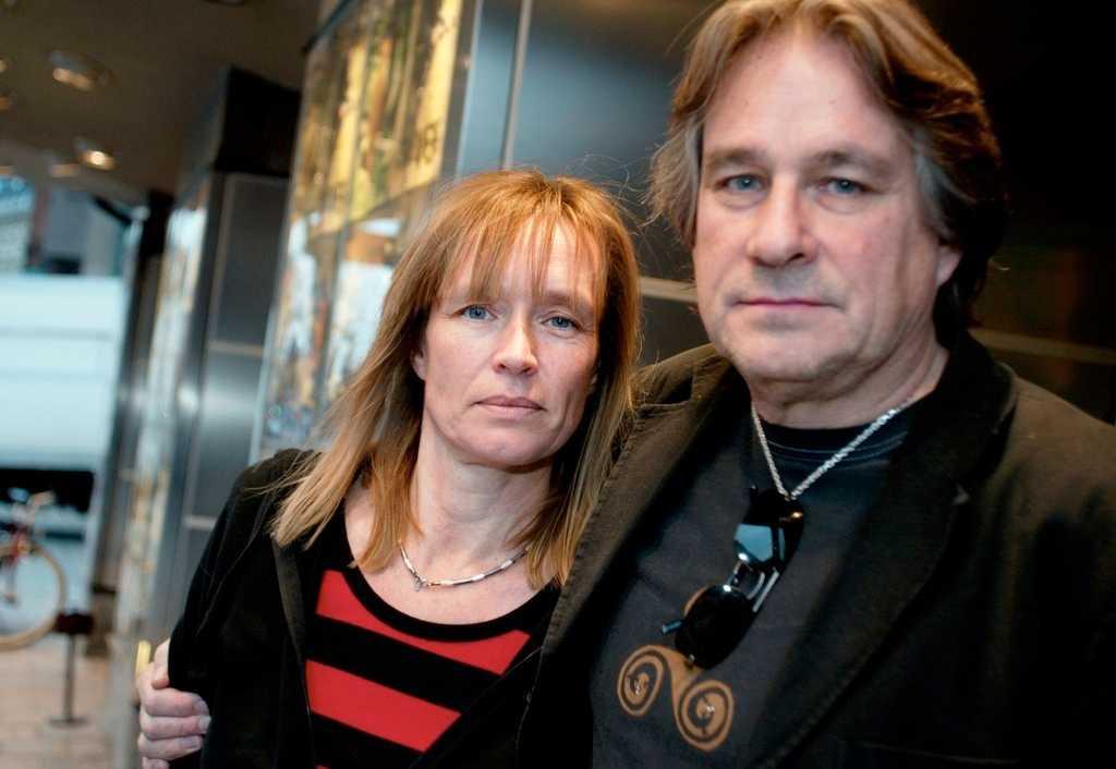 """Cilla och Rolf Börjlind, duon bakom både boken och tv-succén """"Springfloden"""", skriver manus till tv-versionen av """"Den tredje rösten"""""""
