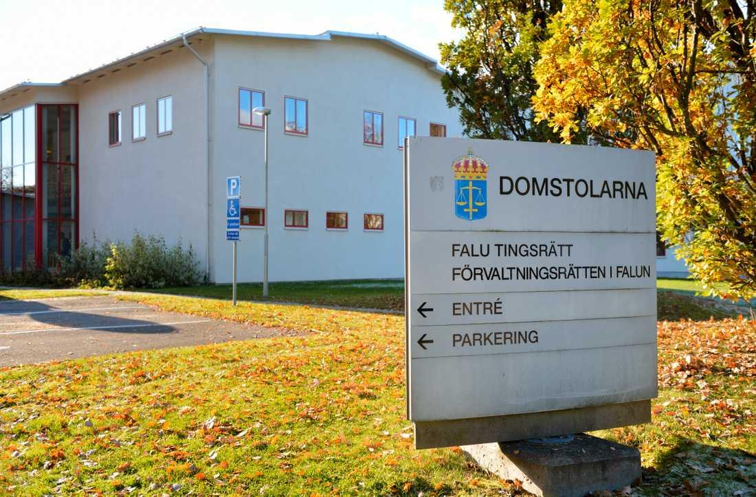 Falu tingsrätt dömde en man i 20-årsåldern till tolv års fängelse för bland annat 49 grova våldtäkter mot barn. Nu sänker Svea hovrätten straffet. Arkivbild.