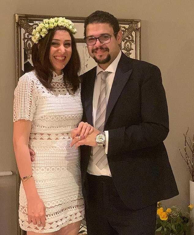 Saeed Tahmasebi arbetade som ingenjör i London. Han träffade psykologstudenten Niloofar Ebrahim för ett år sedan. De blev snabbt förälskade och gifte sig ett knappt år senare.