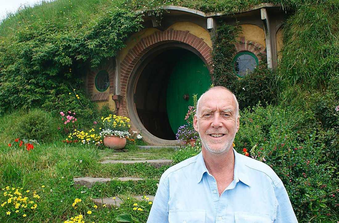 Aftonbladets Jens Peterson på besök i Nya Zeeland under inspelningarna.